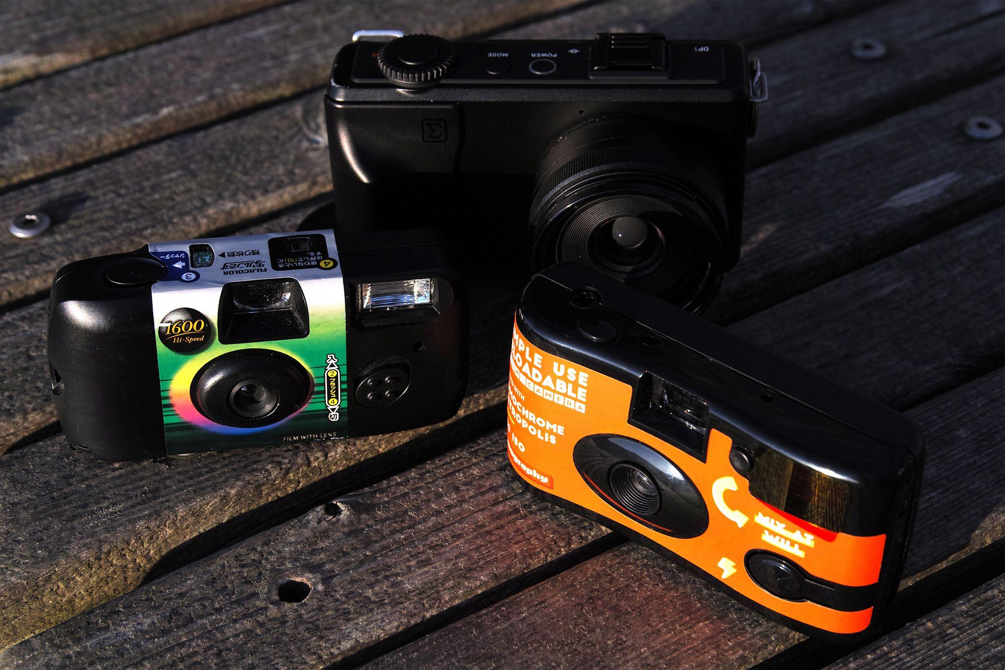 Simple Use Film Camera (レンズ付フィルム) LomoChrome Met